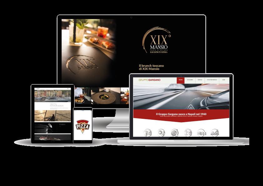 Realizzazione siti - Away Web Agency